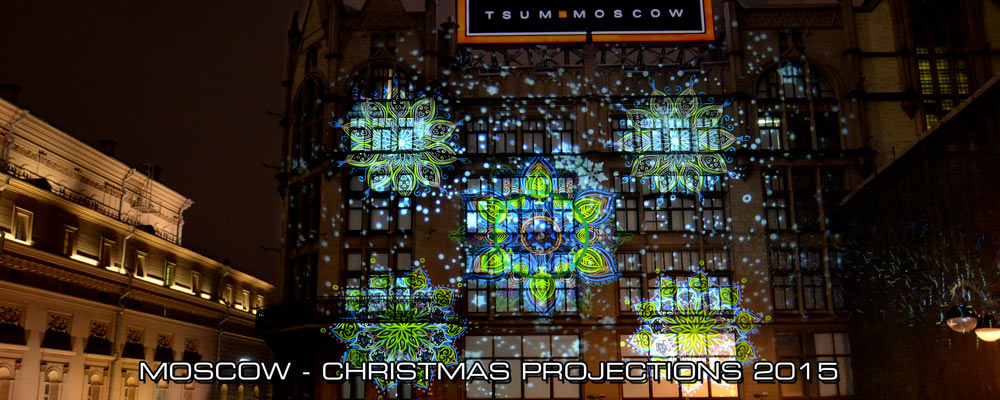 moscow projection christmas