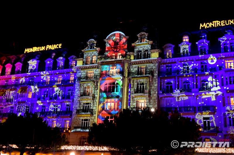 Montreux Christmas Video Mapping