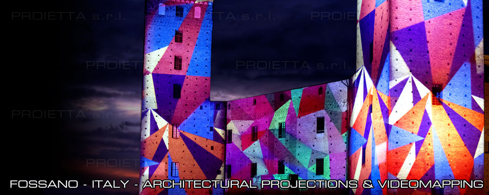 videomapping and architectural projections