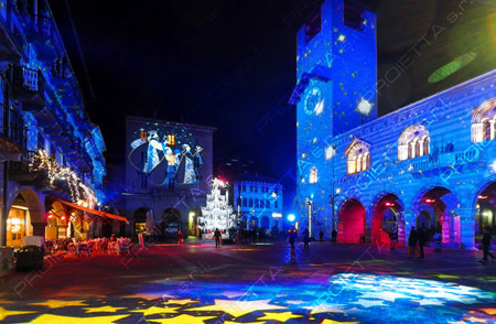 Como Magic light festival: proiezioni natalizie