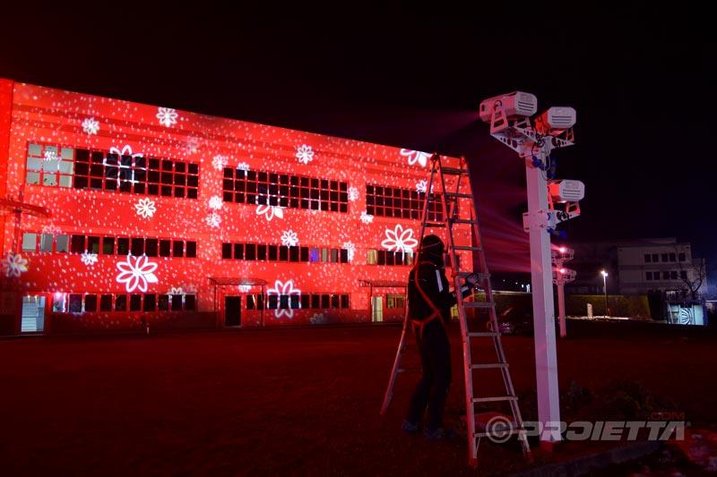 proiettori con tecnologia a led per uso esterno