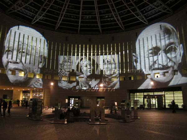 architectural projections for museums and avent