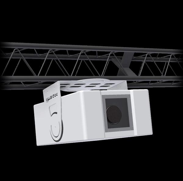 protezione per video proiettore agganciato su americana