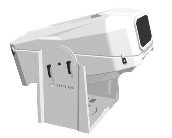 vrayn - guscio per esterno climatizzato per videoproiettori